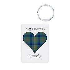 Heart - Kennedy Aluminum Photo Keychain