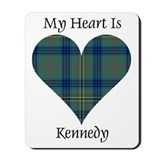 Kennedy tartan Mouse Pads