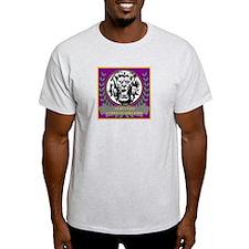Albus Leo Gladiator School Ash Grey T-Shirt