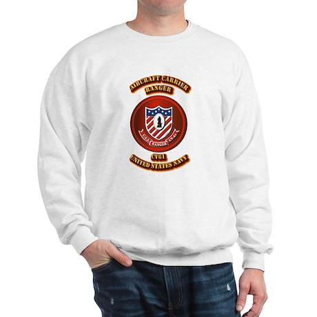 US - NAVY - AC - Ranger - CV61 Sweatshirt
