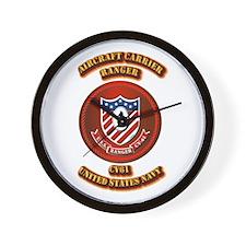 US - NAVY - AC - Ranger - CV61 Wall Clock