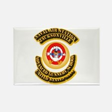 US - NAVY - NAS - Jacksonville Rectangle Magnet