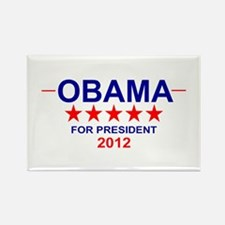Obama for President Rectangle Magnet