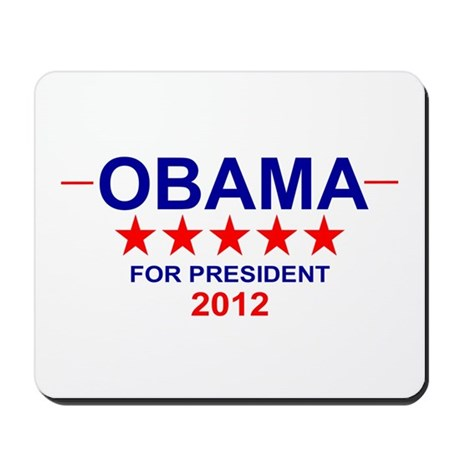Obama for President Mousepad