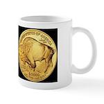 Black-Gold Indian-Buffalo Mug