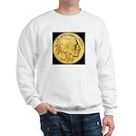 Black-Gold Indian-Buffalo Sweatshirt
