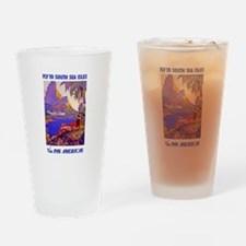 Fly to the South Seas Drinking Glass