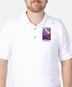 Fly to the South Seas Golf Shirt
