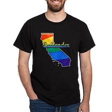 Callender, California. Gay Pride T-Shirt