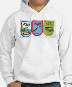 Fiji Patches Jumper Hoody