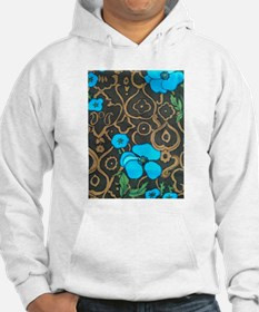 Turquoise & Tapa Jumper Hoody