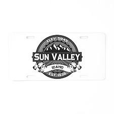 Sun Valley Grey Aluminum License Plate