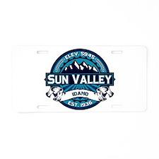 Sun Valley Ice Aluminum License Plate