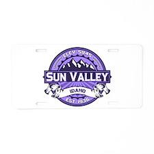 Sun Valley Lavender Aluminum License Plate