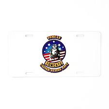 US - NAVY - Tomcat Aluminum License Plate