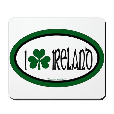 I Love Ireland 2 Mousepad