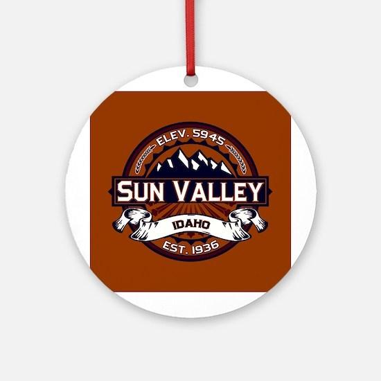 Sun Valley Vibrant Ornament (Round)
