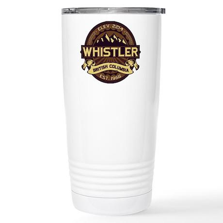 Whistler Sepia Stainless Steel Travel Mug