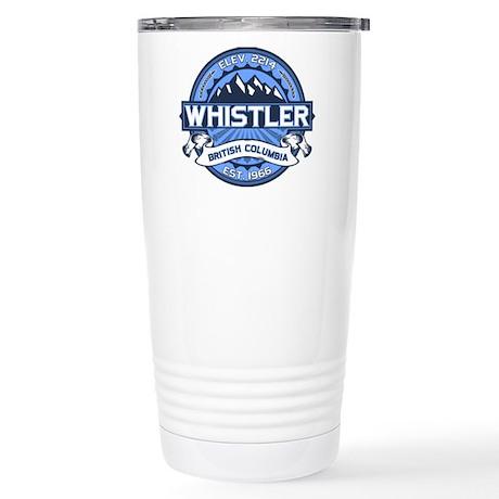 Whistler Blue Stainless Steel Travel Mug