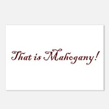 That is Mahogany Postcards (Package of 8)