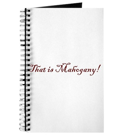 That is Mahogany Journal