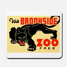Brookside Zoo WPA Poster Mousepad