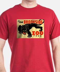 Brookside Zoo WPA Poster T-Shirt