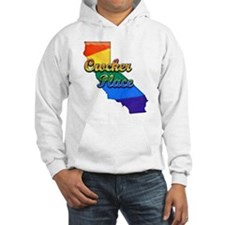 Crocker Place, California. Gay Pride Hoodie