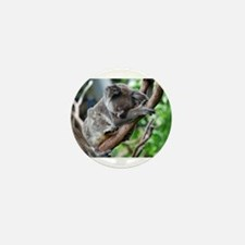 Sleeping Koala 2 Mini Button