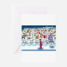 Army of Snowmen Greeting Cards (Pk of 20)