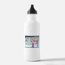Army of Snowmen Water Bottle