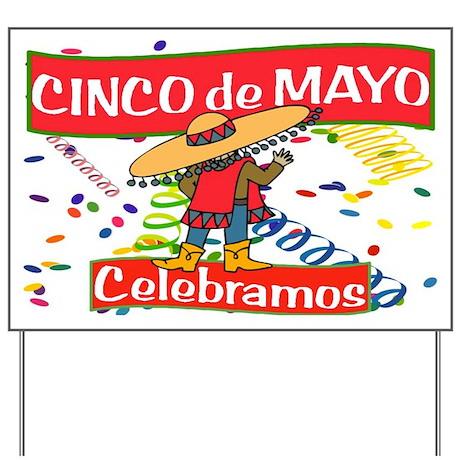 cinco de mayo fiesta spanish yard sign by es fiesta time