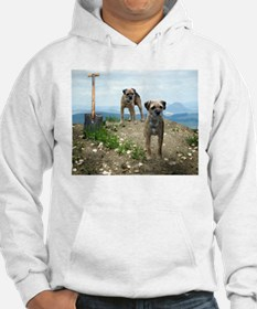 Two Working Terriers and Shov Hoodie