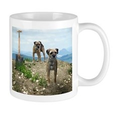 Two Working Terriers and Shov Mug