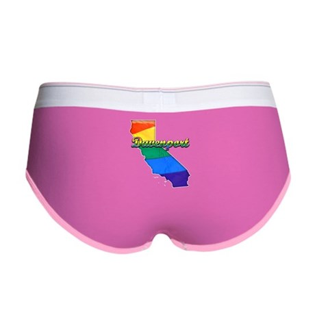 Davenport, California. Gay Pride Women's Boy Brief