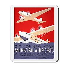 NYC Airports Mousepad