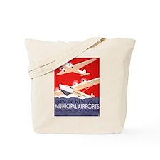 NYC Airports Tote Bag
