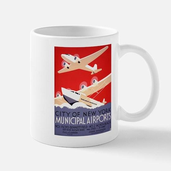 NYC Airports Mug