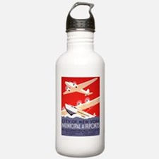 NYC Airports Water Bottle