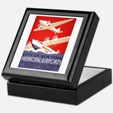 NYC Airports Keepsake Box