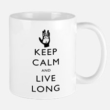 Keep Calm and Live Long Black Mug