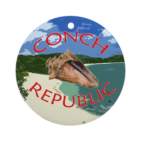 Conch Republic (Party Band) Ornament (Round)