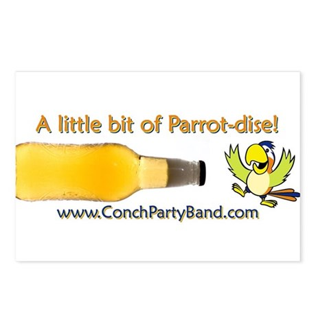 Conch Republic (Party Band) Postcards (Package of