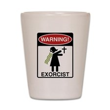 The Exorcist Shot Glass
