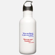 Give Me Your Freedom Water Bottle
