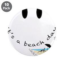 """Cute Beach 3.5"""" Button (10 pack)"""