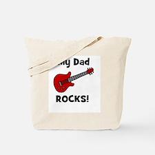 My Dad Rocks! w/ guitar Tote Bag