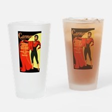 Carmen Opera Poster Drinking Glass