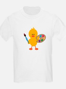 3-ArtChickDkT T-Shirt
