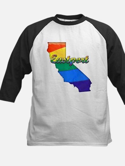 Eastport, California. Gay Pride Kids Baseball Jers